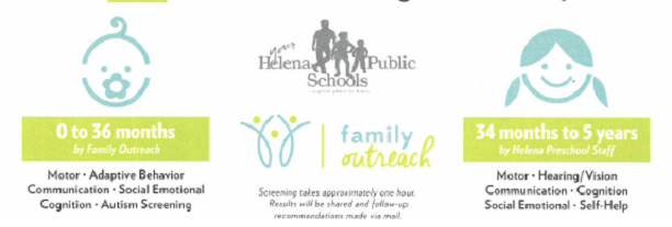 Helena Area Child Find Screening Clinic