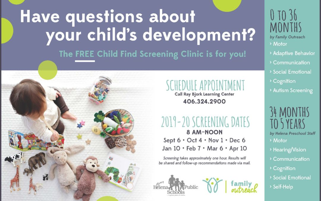 Child Find – A Time To Ask Questions About Your Child's Development