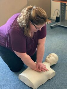 Family Outreach Staff Performing CPR